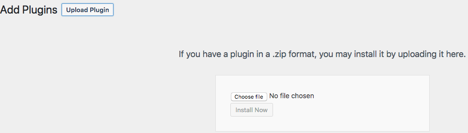 How to upload plugins in WordPress
