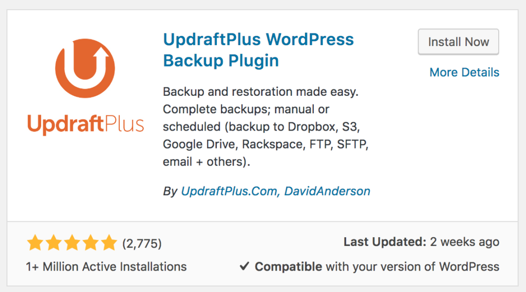 How To Backup Your Wordpress Website To Google Drive With Updraftplus