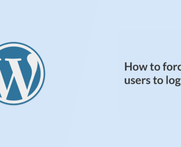 How to force all users to log out of WordPress